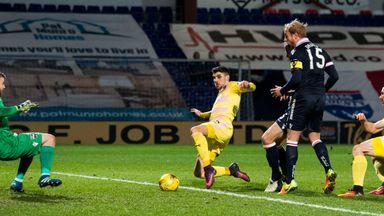 Callum Paterson fires Hearts 2-1 ahead