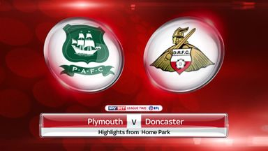 Plymouth 2-0 Doncaster