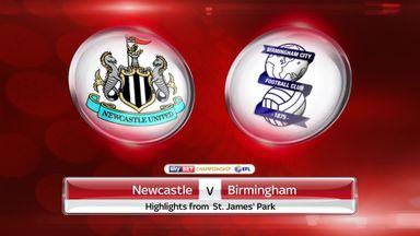 Newcastle 4-0 Birmingham