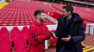Jamie Redknapp meets Adam Lallana