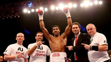 Eddie Hearn has guided the career of IBF champion Anthony Joshua