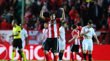Mikel San Jose scored for Athletic Bilbao