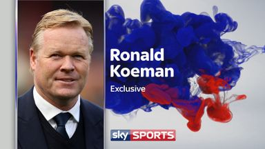 Ahead of Everton's trip to Watford - live on Sky Sports - Ronald Koeman speaks exclusively to Patrick Davison