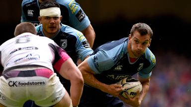 Sam Warburton starts on the flank for Cardiff Blues