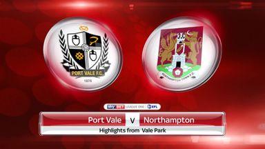 Port Vale 3-2 Northampton