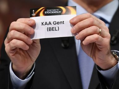 Gent were drawn to face Tottenham in the Europa League