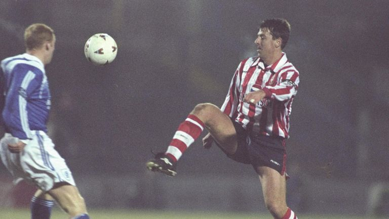 Matt Le Tissier played for Southampton from 1986 to 2002
