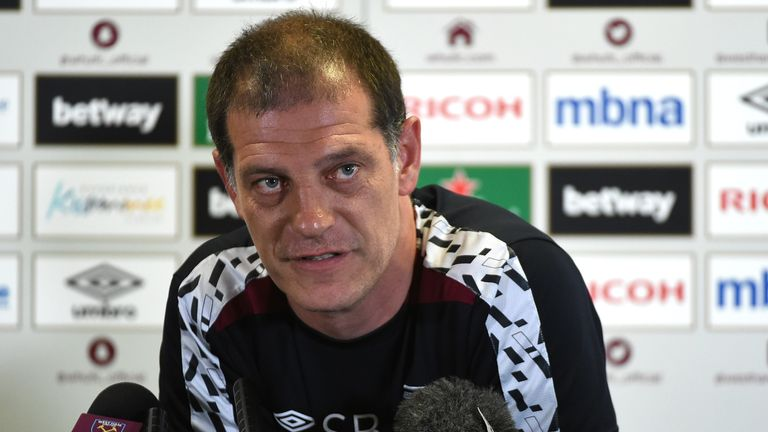 West Ham United, Slaven Bilic speaks to the media