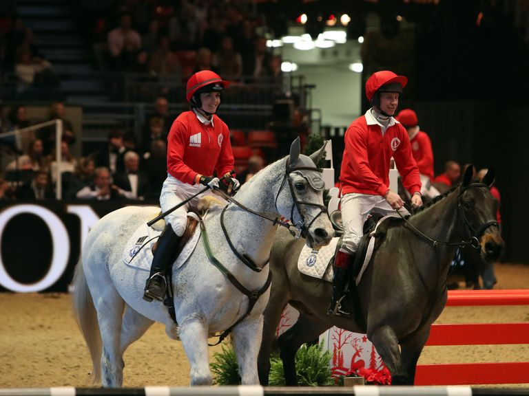Victoria Pendleton Shines On Showjumping Debut At Olympia
