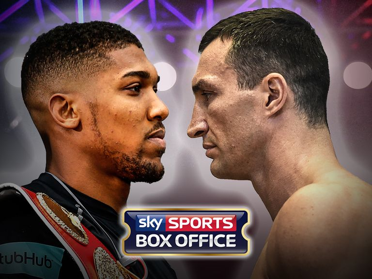 Anthony Joshua to fight Wladimir Klitschko in April at Wembley Stadium