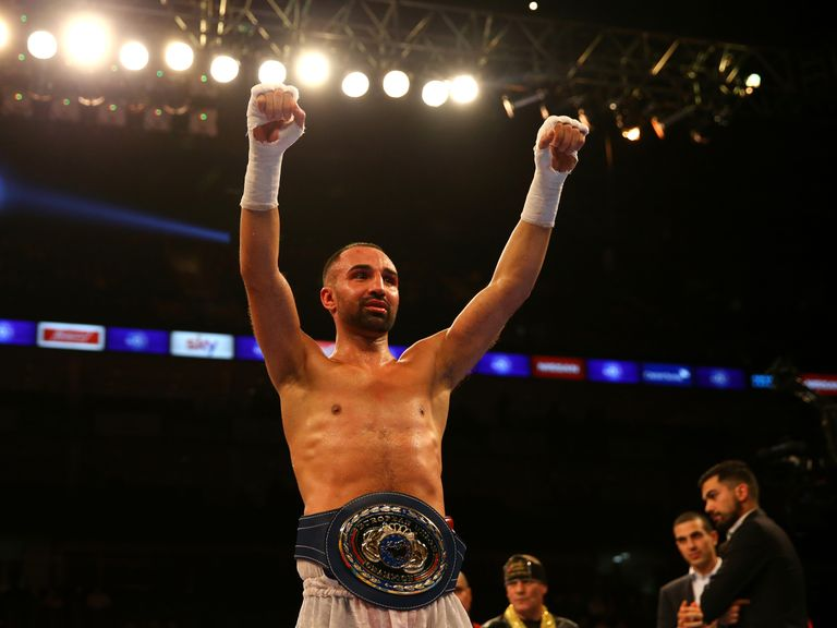 Galerry  champion Paulie Malignaggi ahead of his fight with Floyd Mayweather