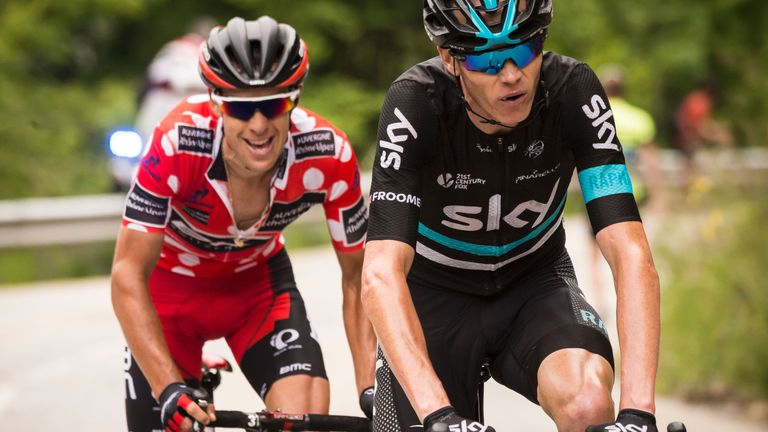 Chris froome expects strong challenge from richie porte in for Richie porte latest news