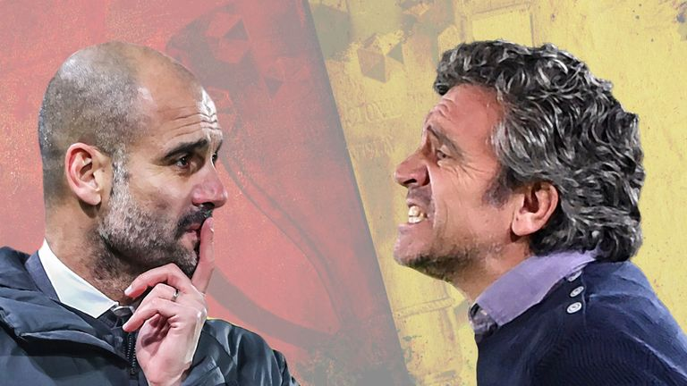 Pep Guardiola is a long-time fan of Sevilla assistant manager Juanma Lillo