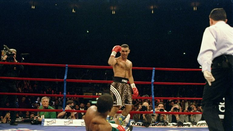 Naseem Hamed was the calmest fighter Johnny Nelson's known