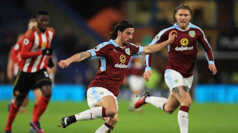 George Boyd is a free agent after being released by Burnley