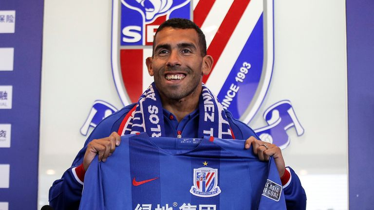 Shanghai Shenhua splashed the cash on Carlos Tevez - will Chinese Super League clubs make a move for Ronaldo?