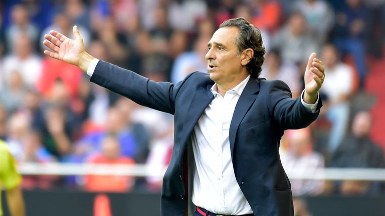 Cesare Prandelli left Valencia at the end of last year after taking charge of just 10 games