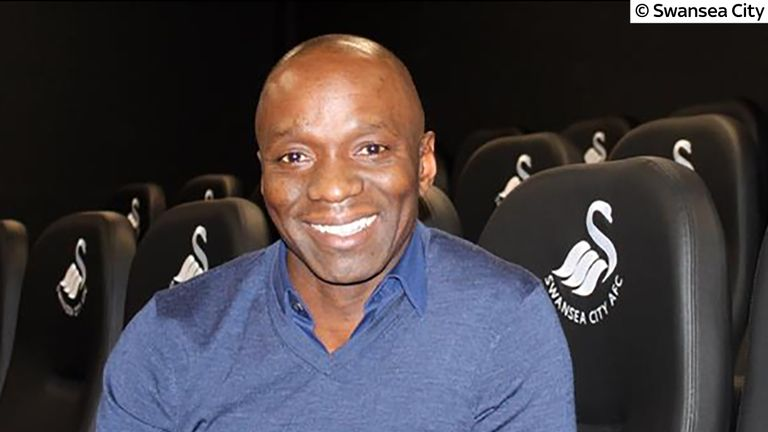 Claude Makelele has joined the coaching staff at Swansea City