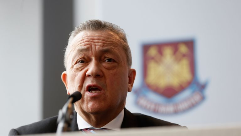 David Sullivan says West Ham are close to appointing a new manager