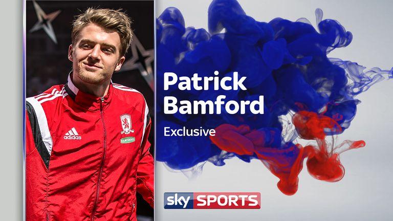Patrick Bamford speaks to Sky Sports about rejoining Middlesbrough