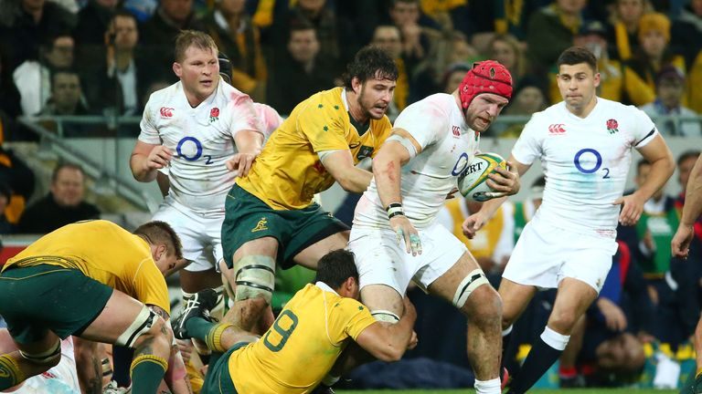 Haskell was making his first appearance since England's second Test of their tour to Australia