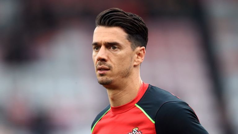 Southampton's Jose Fonte will not be available for selection following his transfer request