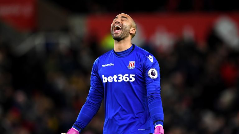 Hughes wants player-of-the-season Lee Grant to stay at Stoke
