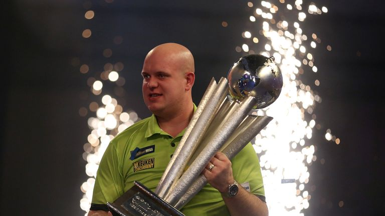 Michael van Gerwen is chasing a third world title