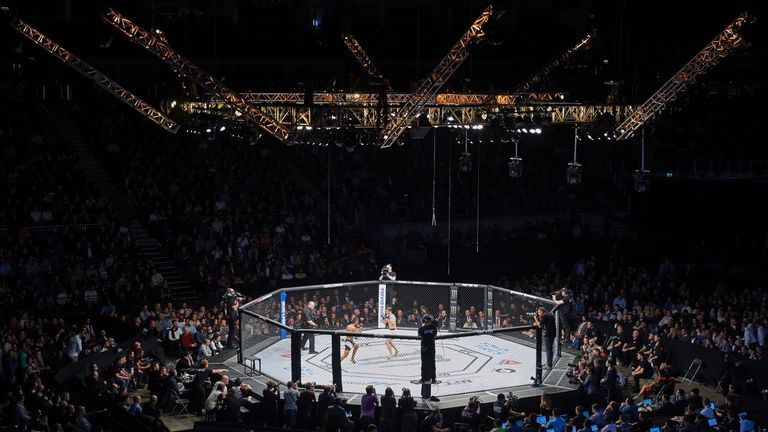The use of mixed martial arts cages has been outlawed in France