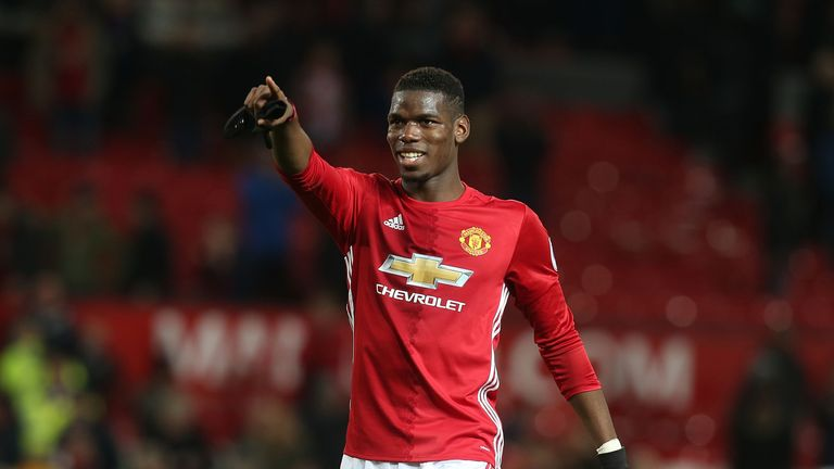 Jose Mourinho has compared Paul Pogba to Frank Lampard