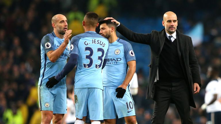 "Zabaleta has been ""so important"" for Man City's progression, says Guardiola"
