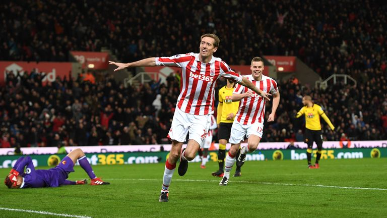 Peter Crouch has scored in his last two Premier League appearances