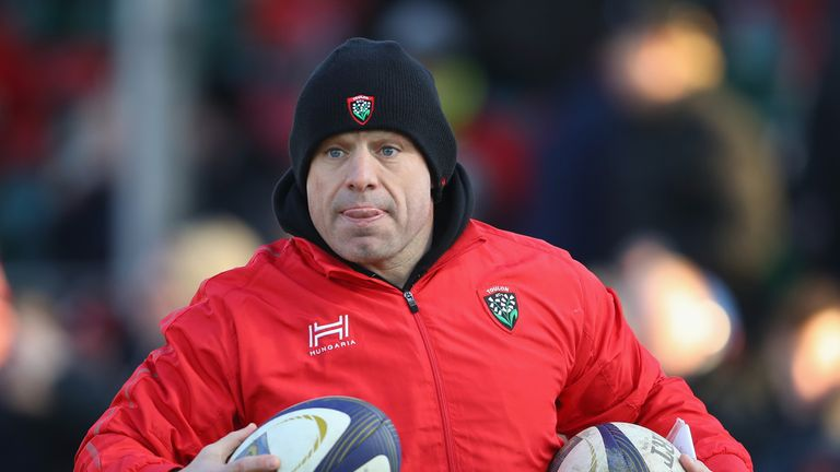 Cockerill is coaching at Toulon until the end of the season