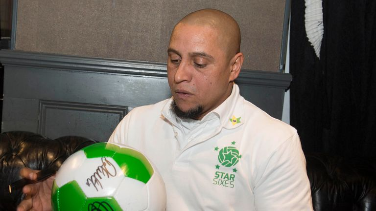 Roberto Carlos will captain Brazil at this summer's tournament
