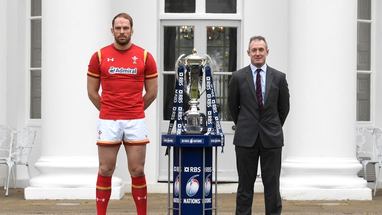 Rob Howley (right) led Wales to three wins in their four autumn internationals