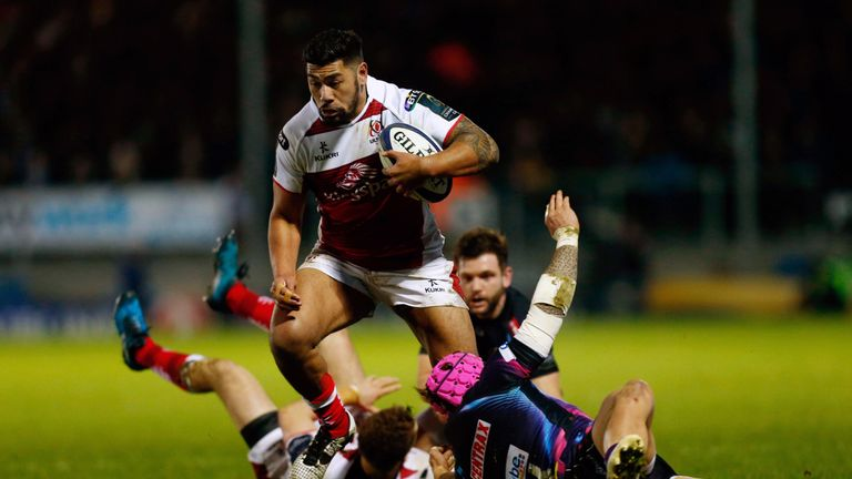 Charles Piutau scored two tries in another superb display