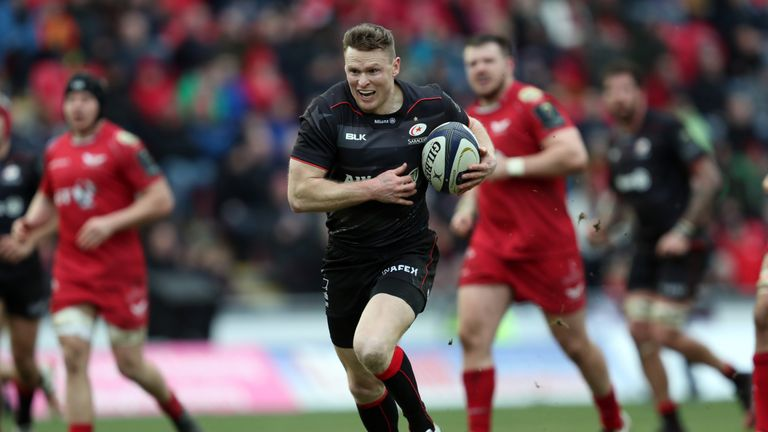 Chris Ashton has 36 tries in the European Champions Cup