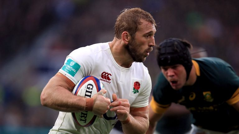 Chris Robshaw missed the entire Six Nations through injury