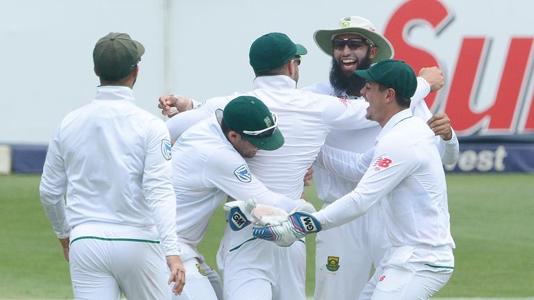 South Africa are taking England on in a four-Test series