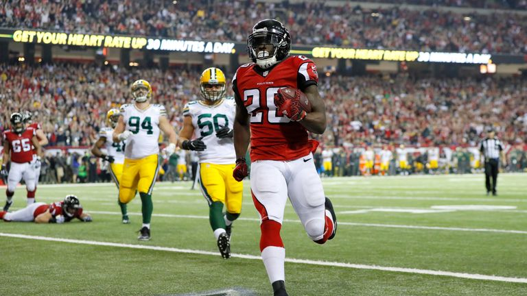 The Falcons ran up the score on the Packers when these two last met in the NFC Championship game