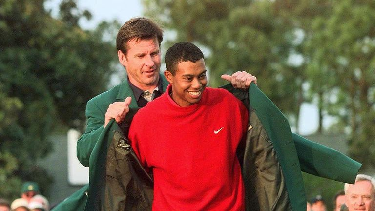 This year marks the 20th anniversary of Woods' record-breaking first Masters victory