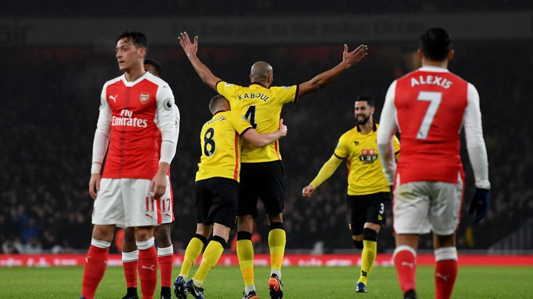 arsenal defeated by watford