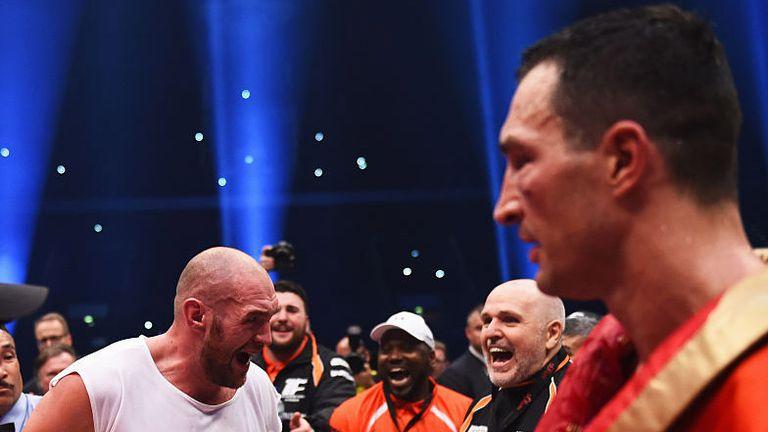 Fury clinched the WBA 'super' and WBO heavyweight titles against Wladimir Klitschko in November 2015