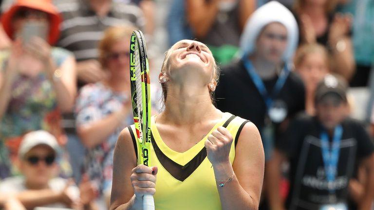 Kuznetsova beat compatriot Anastasia Pavlyuchenkova in the quarter-finals