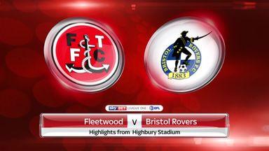 Fleetwood 3-1 Bristol Rovers