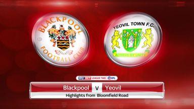 Blackpool 2-2 Yeovil