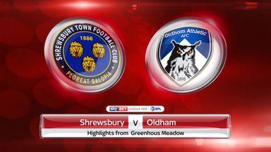Shrewsbury 1-0 Oldham