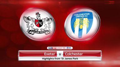 Exeter 3-0 Colchester