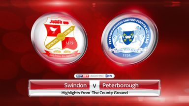Swindon 0-1 Peterborough