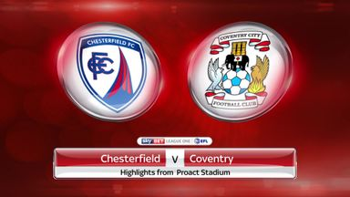 Chesterfield 1-0 Coventry